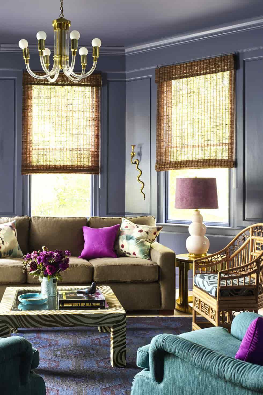 تنسيق ألوان ديكور المنزل - لون الأثاث