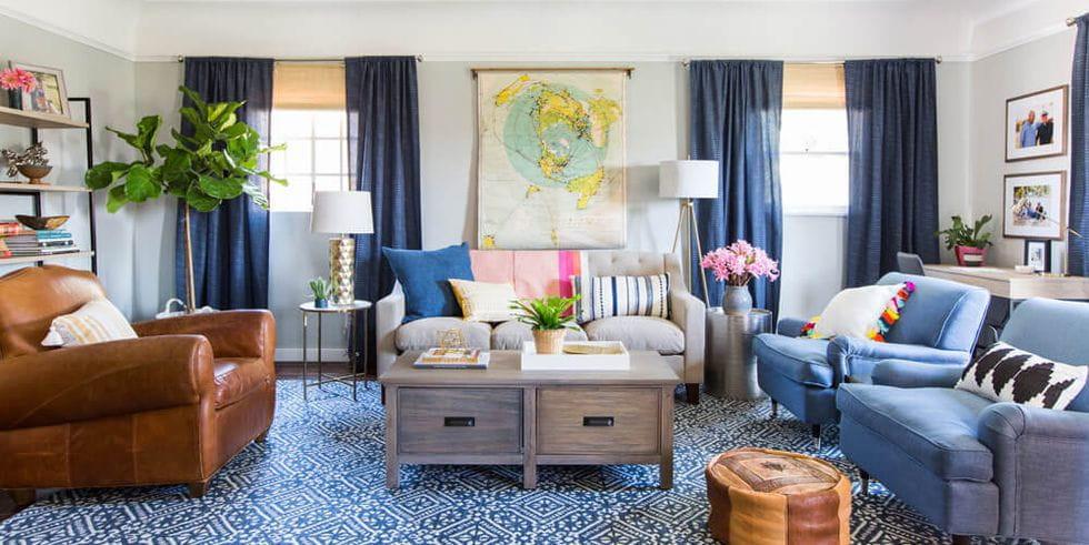 بالصور تركيبات ألوان متنوعة لديكور غرف منزلك