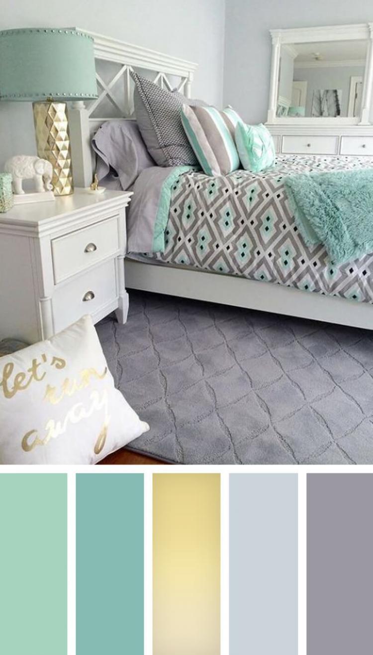 تنسيق ألوان ديكور المنزل - تنسيق ديكور كل غرفة على حدة