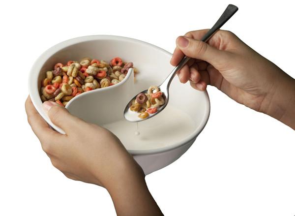 أدوات مطبخ- طبق حبوب الإفطار المقرمشة