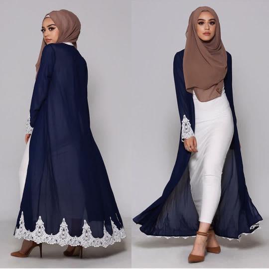 اختيار لون الحجاب المناسب - تنسيق الحجاب مع الاكسسوارات