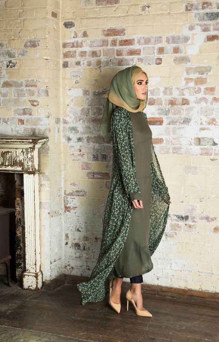 اختيار لون الحجاب المناسب - الحجاب الأومبري