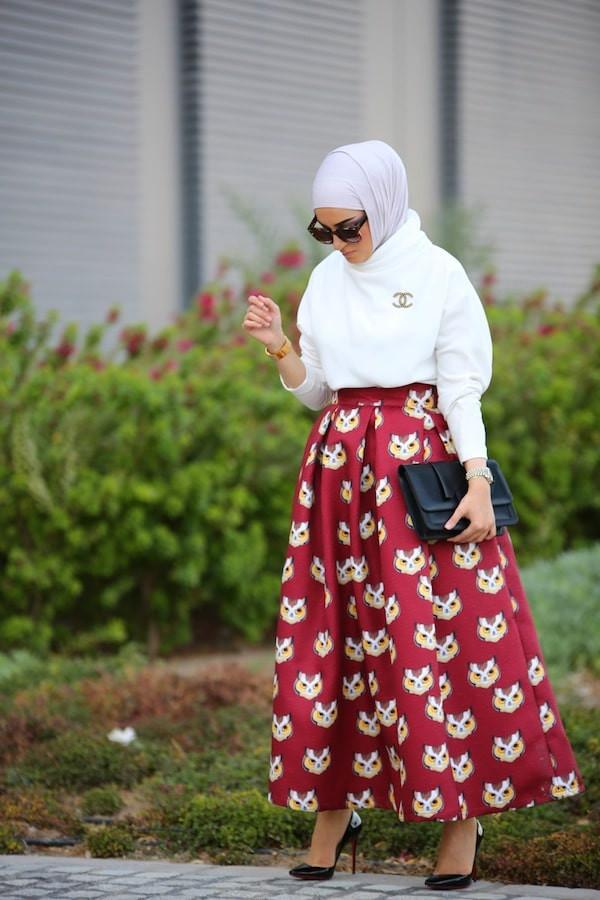 ملابس العيد- التنورات الواسعة