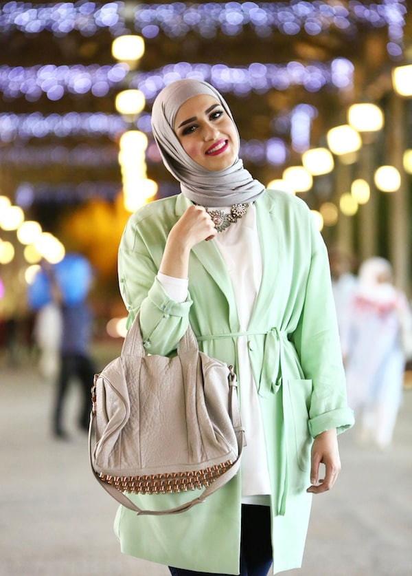 ملابس العيد- الألوان الفاتحة