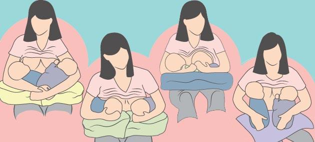 طرق رضاعة التوأم- كيفية إرضاع التوأم