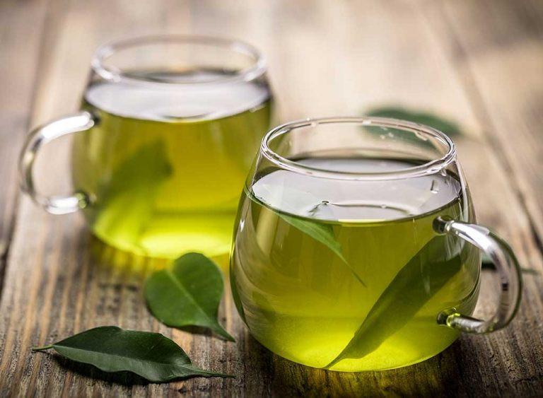 أكلات تجلب السعادة - الشاي الأخضر