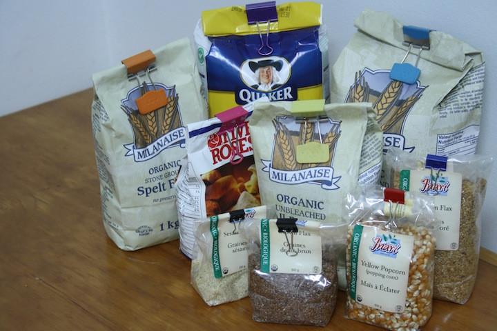 حيل لترتيب المنزل - تنظيم المواد الغذائية بالمطبخ