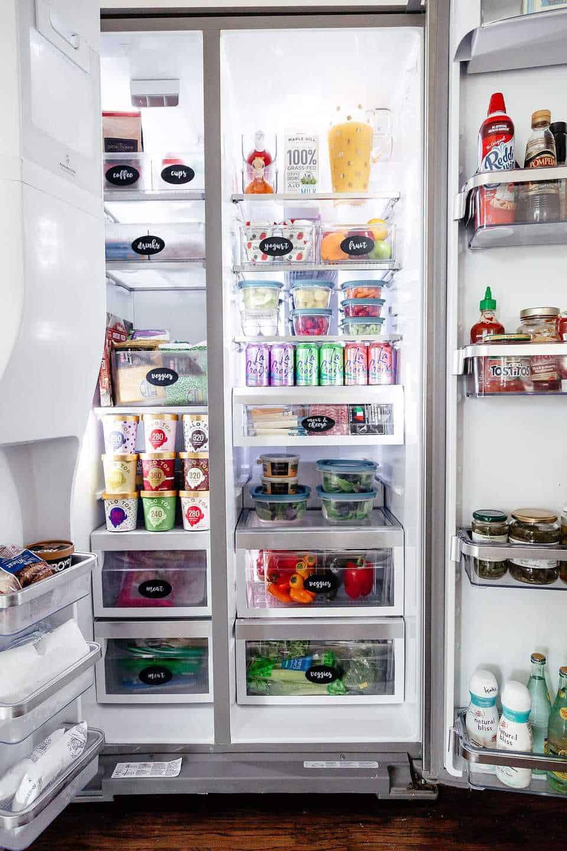 حيل لترتيب المنزل - تنظيم الثلاجة