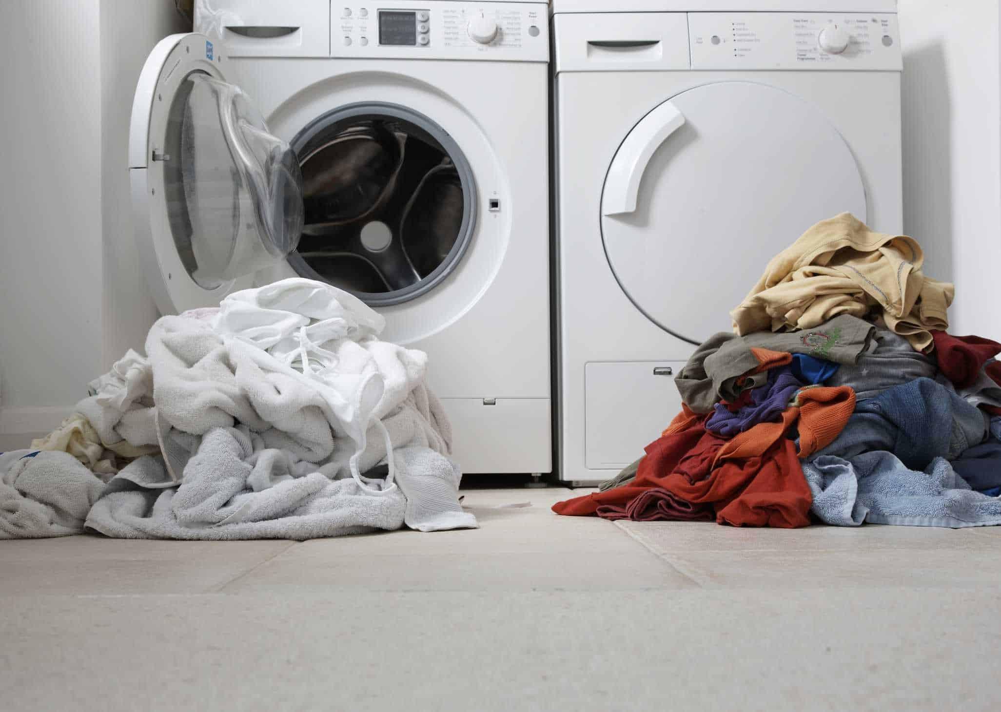 أخطاء شائعة في الغسيل - عدم تصنيف الغسيل