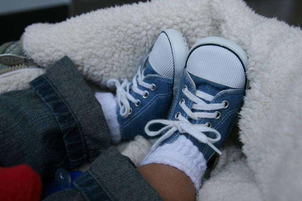 منتجات للأطفال الرضع - أحذية لحديثي الولادة