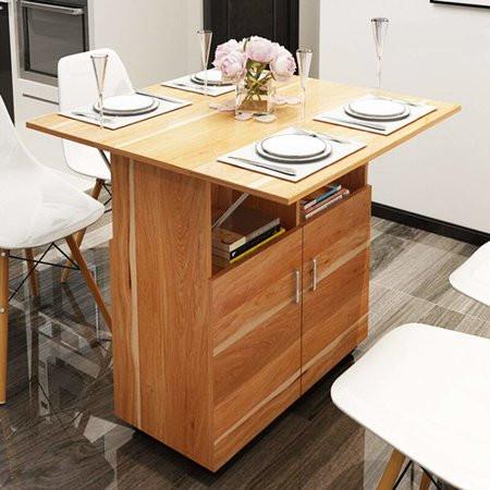 أفكار لترتيب المطبخ-طاولة مطبخ قابلة للطي