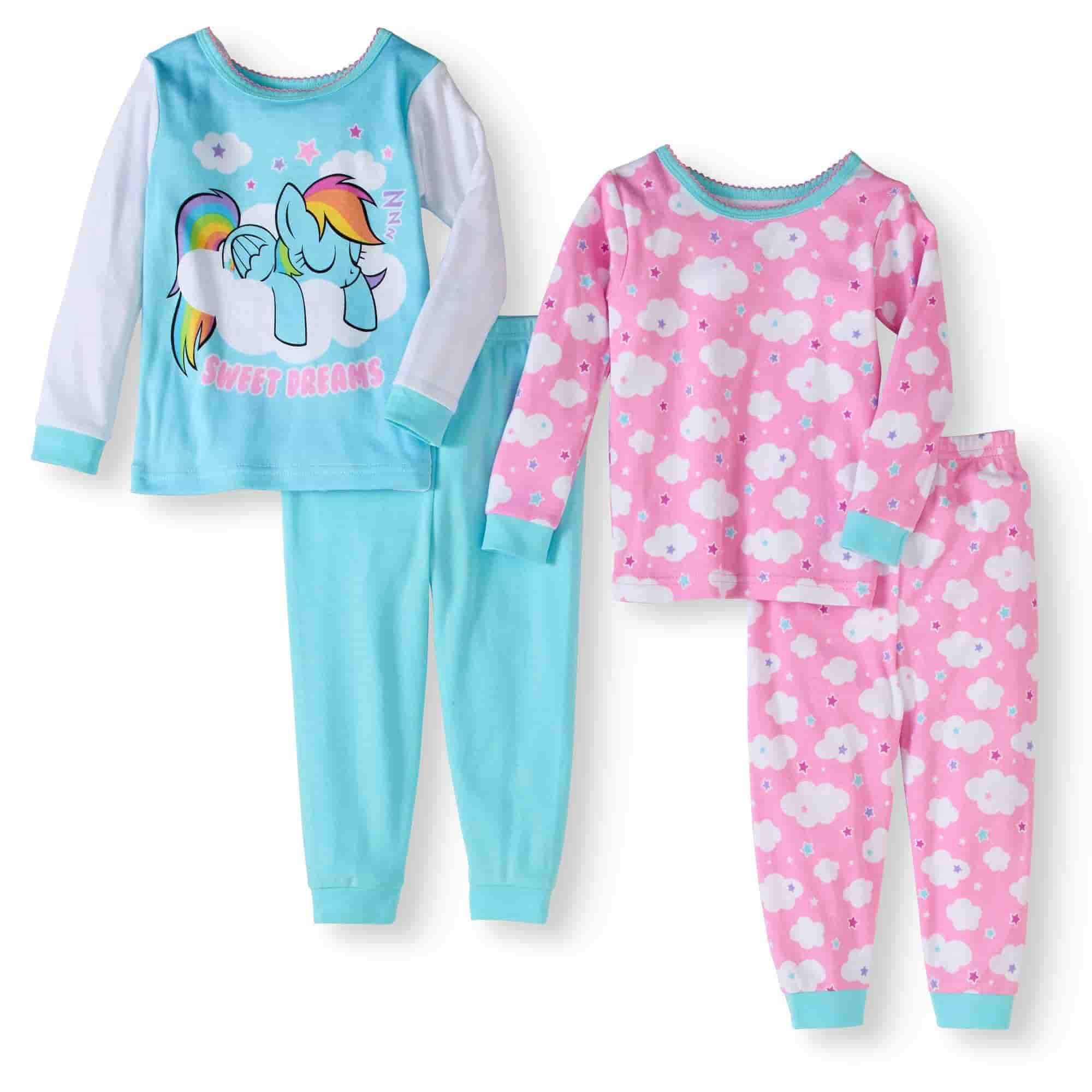 بيجامات نوم للأطفال - بيجامات بناتي قطيفة