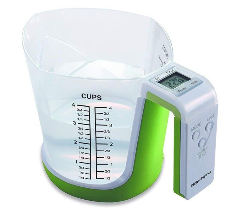 تقليل الوقت في المطبخ-المقياس الرقمي