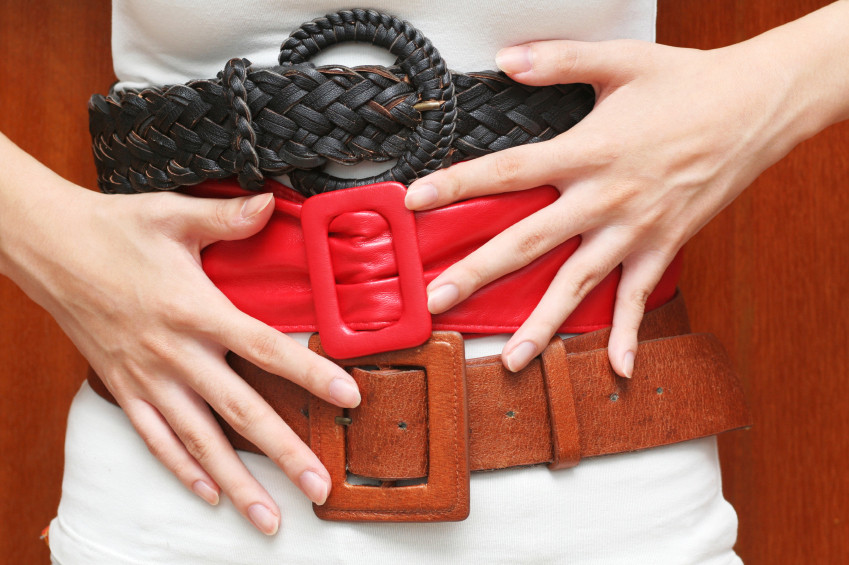 ربط الحزام - الطريقة العادية