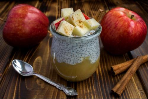 وصفات للرجيم - طريقة عمل شوفان بالزبادي والتفاح