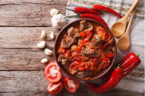 اللحم الجملي - اللحم الجملي على الطريقة الهندية