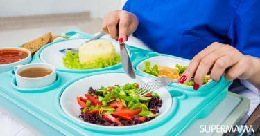 التغذية بعد الولادة