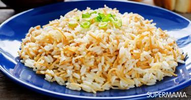 وصفة الأرز بالشعرية