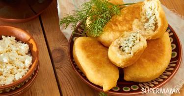 وصفة معجنات الجبن والبقدونس
