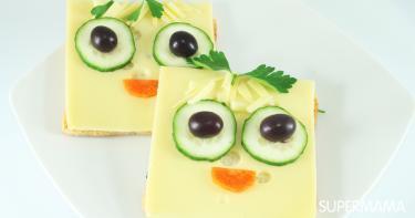 طريقة عمل سندويش الجبنة الذائبة للأطفال