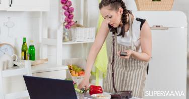 تحضير الطعام للمرأة العاملة