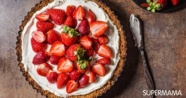 فيديو وصفة: كعكة المهلبية والفراولة
