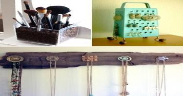 أفكار ذكية لإعادة إستخدام الأغراض المنزلية