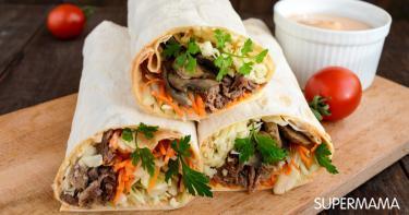 وصفة فيديو : شاورما اللحم