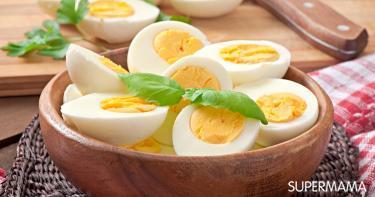 طريقة سلق البيض