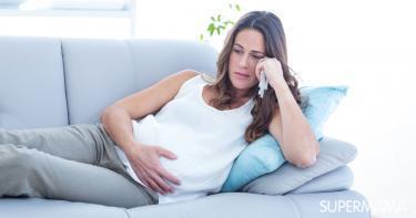 أضرار الاكتئاب على الحمل