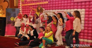 كافحى سرطان الثدى بالرقص