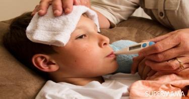 حماية الأطفال من البرد والإنفلونزا في الشتاء