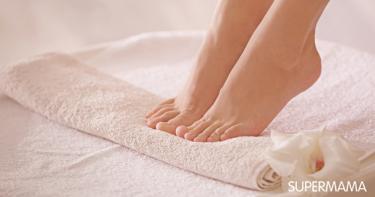 نصائح لتجميل القدمين