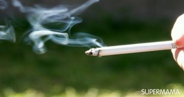 أضرار دخان السجائر على طفلك