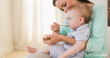 وجبات للطفل الرضيع من الشهر السادس