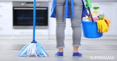 جدول أسبوعي لتنظيف البيت