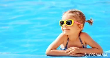 حماية الأطفال من أشعة الشمس