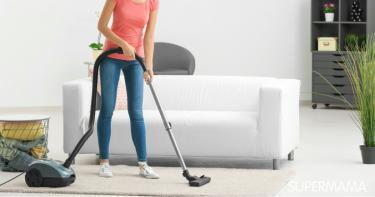 تنظيف سريع للمنزل