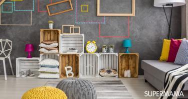 تنسيق ألوان ديكور المنزل