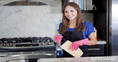 كيفية تنظيف عيون البوتجاز و شفاط المطبخ بسهولة