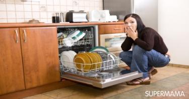 تنظيف غسالة الأطباق