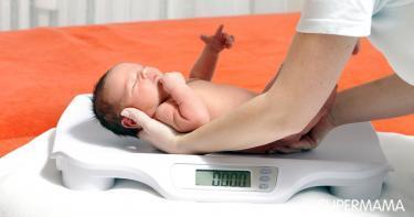 الوزن الطبيعي للمولود - وزن حديثي الولادة