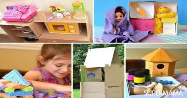طريقة عمل ألعاب أطفال صغار في المنزل