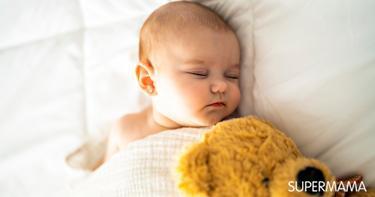 النوم عند الرضع