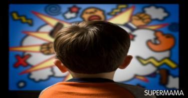 طرق حماية الطفل من الكرتون العنيف