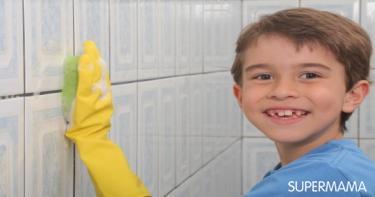 تنظيف الأثاث والجدران من الأقلام