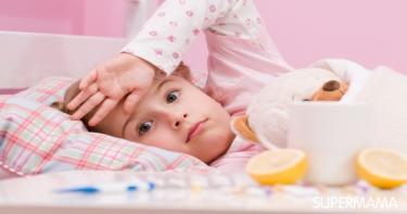 الترجيع عند الرضع بسبب البرد