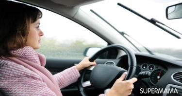 القيادة الآمنة في الشتاء