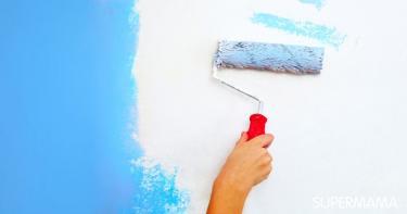 كيفية طلاء الجدران بنفسك
