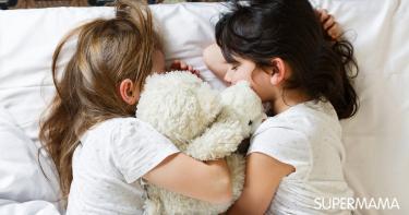نوم الأطفال في غرفة مشتركة
